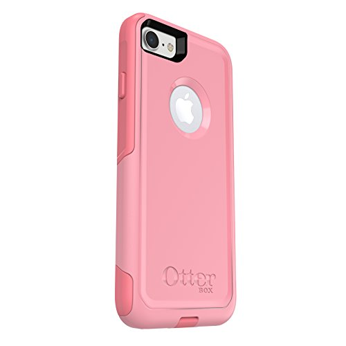 OtterBox COMMUTER SERIES Case for iPhone 8 & iPhone 7 (NOT Plus) - Frustration Free Packaging - ROSMARINE WAY (ROSMARINE/PIPELINE PINK)
