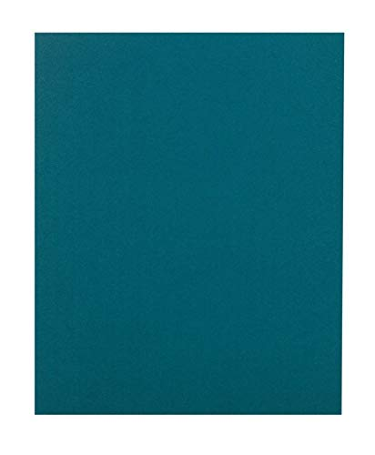 Office Depot Brand 2-Pocket Folders Without Fasteners, Teal, Pack of 25