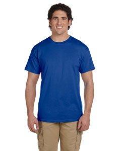 - Jerzees mens 5 oz. HiDENSI-T T-Shirt(363)-ROYAL-2XL