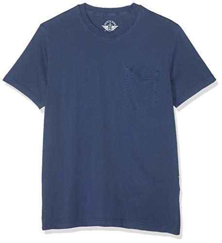 Dockers Alpha GMD Pocket tee Camiseta, Azul (Garment Dye Sargasso ...