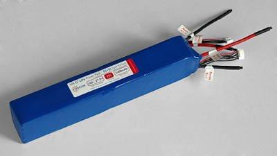 Hyperion G3 Vx 5400 Mah 7S 25.9V 35C/65C Lithium Polymer Split Battery