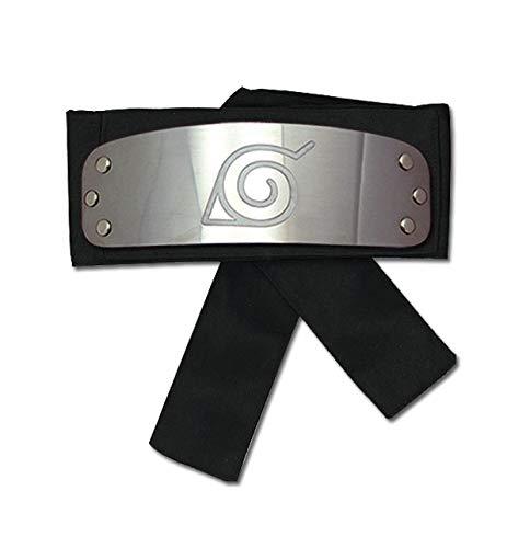 Great Eastern Naruto Shippuden GE-8676 Leaf Village Headband - Black ()