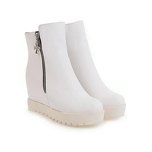 Balamasaabl10270 - Col Bas Pour Femme, Blanc (blanc), 35