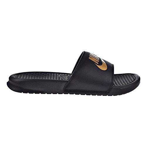 Slide Do Men's Nike Sandal Benassi Metallic Gold Just Black It wtXwZOq