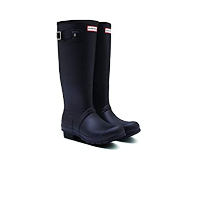 Hunter Women's Original Tall Insulated Rain Boots (9, Black) | Rain Footwear