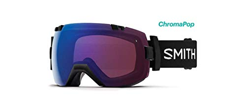 Smith Optics I/Ox Adult Snow Goggles - Black/Chromapop Photochromic Rose Flash