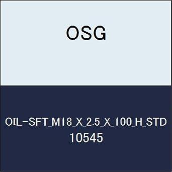 【クリックで詳細表示】<title>Amazon.co.jp: OSG ハイススパイラルタップ OIL-SFT_M18_X_2.5_X_100_H_STD 商品番号 10545: 産業・研究開発用品</title>