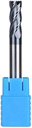 SLRMKK Tungsten Steel 1pcRouter bits,/1mm,2mm,3mm,4mm,5mm,6mm,8mm, 10mm,12mm,14mm,16mm,18mm,20mm,HRC45 Spiral Bit Milling Cutter Tools,D10,10,100