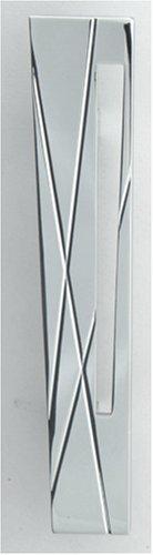 Modernist Modernist Collection - Atlas Homewares 253L-CH 5-Inch The Moderns Collection Modernist Pull - Left, Polished Chrome