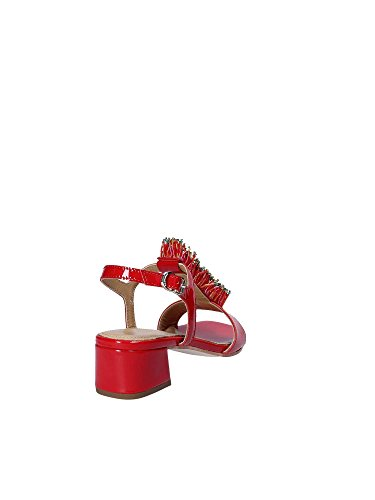 Apepazza High Women Red GNN11 Heeled Sandals q0faq