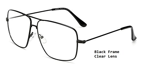 01cd14b894 Image Unavailable. Image not available for. Colour  BuyWorld Hikulity  Vintage Square Men s Eyeglasses Frames ...