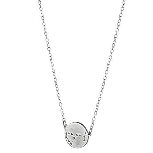 (Deidreamers Sterling Silver Zodiac Horoscope Necklace Handmade in USA (Scorpio))
