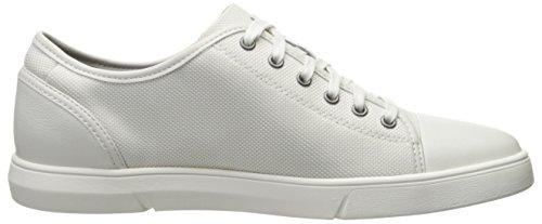 Clarks Mens Tappo Lander Sneaker Combo Bianco