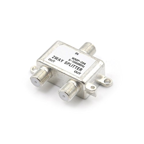 BIN Way Port Satellite Sat Coaxial Diplexer Combiner Splitter Switcher F Connector