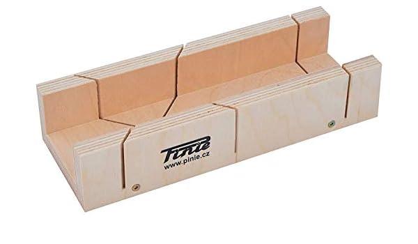 Caja de Ingletes de Contrachapado de Abedul 300x70x70 MM: Amazon ...