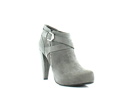 Guess Boots Women - G by GUESS Womens Taylin2 Closed Toe Ankle Fashion Boots, Dark Gray, Size 8.5
