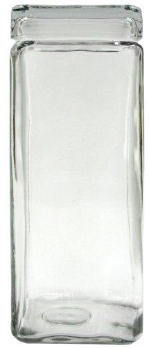 2 5 qt Stackable Jar Glass
