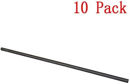 Zwisdom Rührstab Purity Graphit, superfein, geformt, Schmelzguss, Tiegel, Verfeinerung, Metallwerkzeuge, 3 x 100 mm, 10 Stück