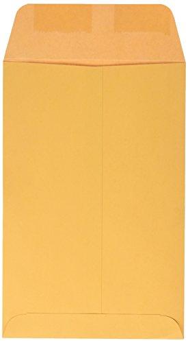 Quality Park Catalog Envelope, Plain, 28 lbs, 6 x 9 Inches, 500 per Box, Kraft (QUA40765)