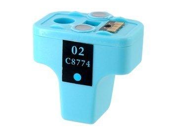 02 C8774 LC Light Blue Color disposable inkjet cartridge for HP Photosmart D7345 / D7355 / D7360 / D7368 / D7100 / D7145 / D7155 / D7160 / D7168 / D6100 (Light Blue)