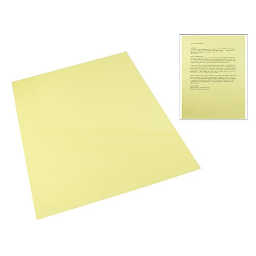 Plastic Tinted Reading (Yellow Tinted Plastic Reading Sheet)
