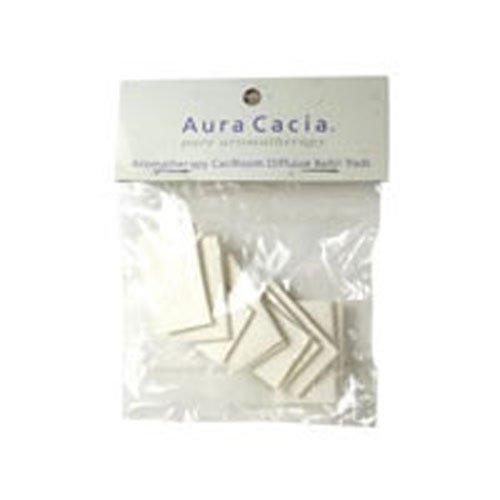 - Aura Cacia Aromatherapy Car/Room Diffuser Refill Pad - 10 per pack - 6 packs per case.