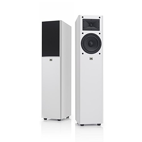 JBL Arena 170 White 2-Way 7-Inch Floor Standing Loudspeaker (White) 2 Way Floor Standing Speaker