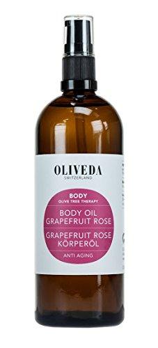 Oliveda Körperöl Grapefruit Rose (200ml) 100% organisch