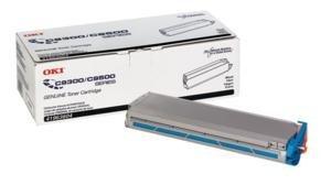 C9500 Yellow Toner (Oki C9500 Series Yellow Toner, 15000 Yield - Genuine Orginal OEM toner)
