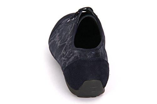 Semler Nele Midnight Blue Samt Chevro Struktur - N6106440080 Negro