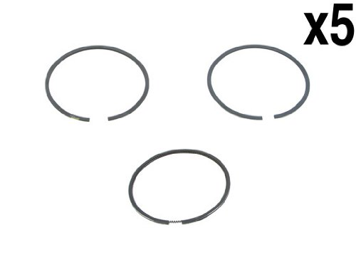 (Audi 2.2L (86-95) Piston Ring Set (x5) Standard (81.00mm) GOETZE rings)