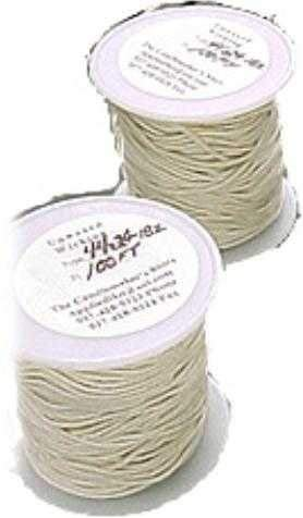 (#2/0 (Medium) Square Braided Wick: 100 foot Spool)