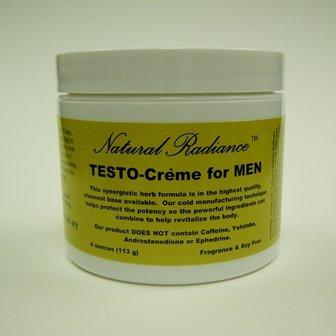 Testostérone (bio-identiques) Formulé pour les hommes 4 oz Jar - sans parfum & Sans paraben - Sans caféine - Non éphédrine-androstènedione Non - Non Yohimbe