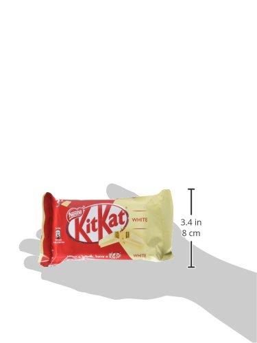 KitKat - Galleta recubierta de chocolate blanco (66%), paquete de 3 x 41.33 gr: Amazon.es: Alimentación y bebidas
