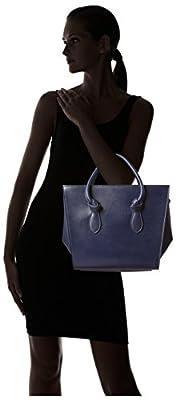 Celine Women's Mini Tie Bag, Navy