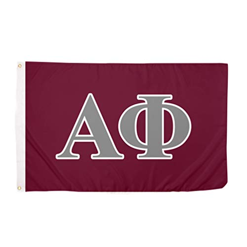 Alpha Phi Letter Sorority Flag Greek Letter Use as a Banner Large 3 x 5 Feet Sign Decor A Phi