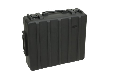 SKB 1R2723-8BW Roto-Molded Case 27 x 23 x 8 Inches with Wheels, Pull Handle for PreSonus 24, A&H Zed-24 by SKB