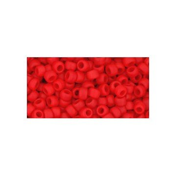 I-Beads cc45af–Perle di Rocaille Toho 8/0opaco Frosted Cherry (10g)