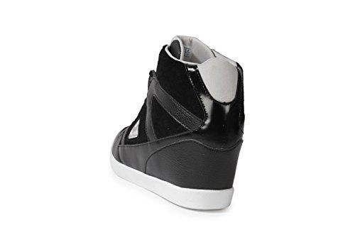 Le Coq Sportif ausgeglichen Segur schwarz, schwarz