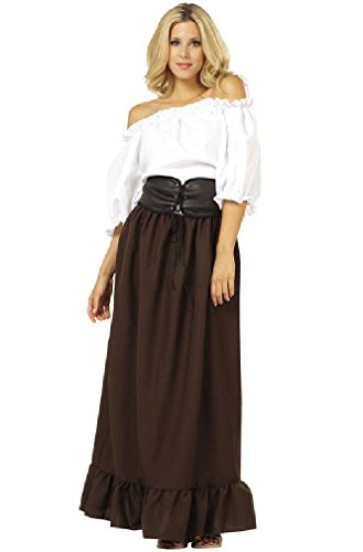 8eighteen Renaissance Peasant Wench Adult Halloween Costume (Plus Size Renaissance Wench Costume)