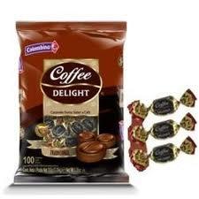 COFFEE DELIGHT SOFT CANDY 10O UNITS 13 OZ CARAMELO BLANDO DE CAFE 100 UNIDADES by Colombina