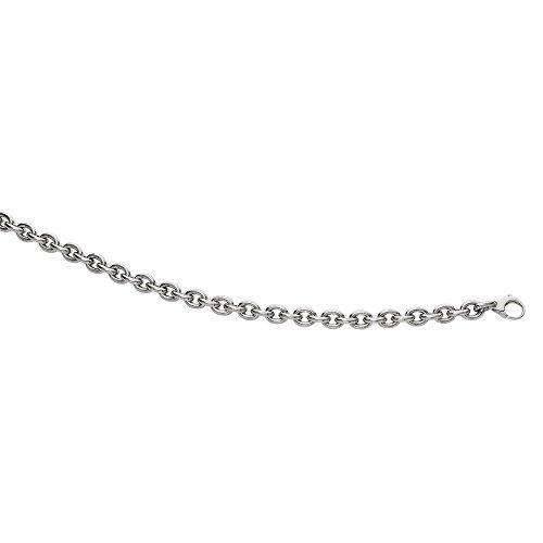 Or blanc 14carats 19,1cm Fancy-Bracelet Lien-16
