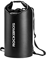 ROCKBROS Waterproof Dry Bag Backpack 10L 5L Storage Bag for Boating Kayaking Swimming Floating Outdoor Backpacking