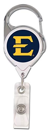 East Tennessee State University Buccaneers Premium Badge Reel Id Holder