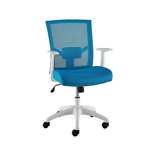 Staples 2630431 Ardfield Mesh Task Chair Blue (50837)