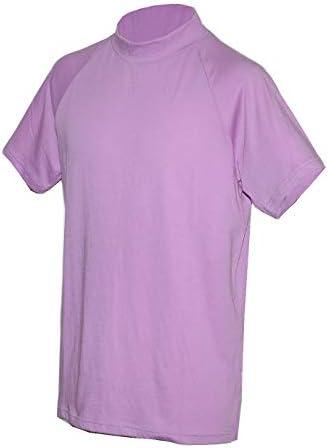 ハイネック半袖Tシャツ 綿60% ポリエステル40% セントスコットSt.Scott 573941