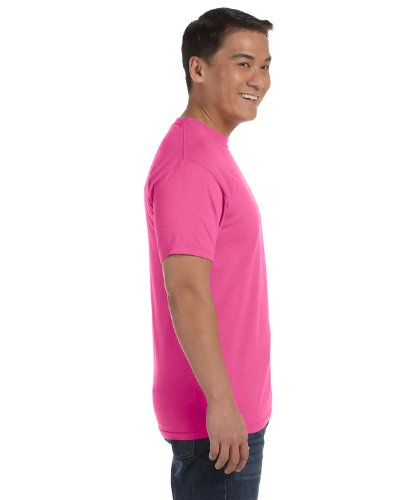 Comfort Colours Adults Unisex Short Sleeve T-Shirt (S) (Neon Pink) (Neon T-shirt Adult)