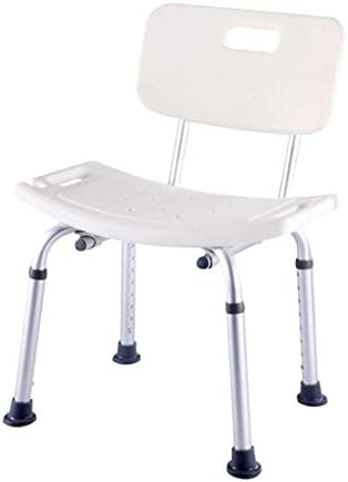 AZHom Ältere Bad Stuhl Bad hocker haushaltsdusche ältere rutschfeste Bad Stuhl behinderte Schwangere Frauen Bad hocker Badestuhl