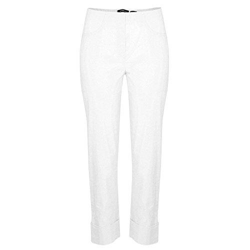 Robell - Pantalón - Ajustado - para mujer blanco