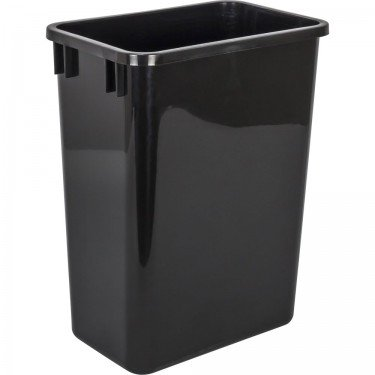 (Replacement Waste Container, 35qt., Black)